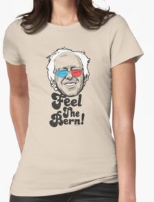 Bernie Sanders Pop Art Portrait 2016 Womens Fitted T-Shirt