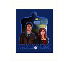 Partners In Crime Doctor Who Tenth Doctor Donna Noble David Tennant Catherine Tate #DTfan4life  Art Print