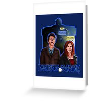 Partners In Crime Doctor Who Tenth Doctor Donna Noble David Tennant Catherine Tate #DTfan4life  Greeting Card