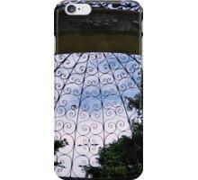 Garden Gazebo - Looking Up! iPhone Case/Skin