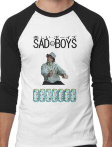 Sad Boys Yung Lean  Men's Baseball ¾ T-Shirt