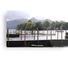 Keswick Jetty Metal Print