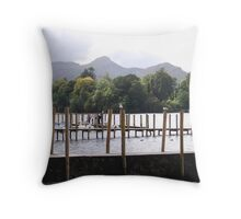 Keswick Jetty Throw Pillow