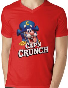 Capn Crunch Mens V-Neck T-Shirt