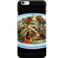 Asian Stir Fried Sea Cucumber & Veggies iPhone Case/Skin
