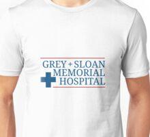 Grey + Sloan Memorial Hospital Unisex T-Shirt