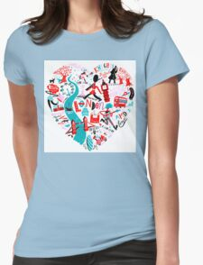 The Landmark London 578 Womens Fitted T-Shirt