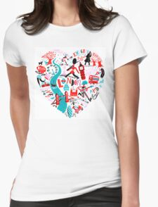 The Landmark London Womens Fitted T-Shirt