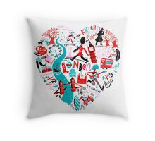 The Landmark London 578 Throw Pillow