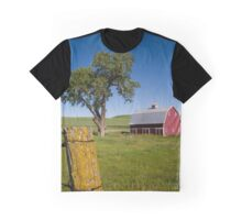 Tree in the Barn Yard Graphic T-Shirt