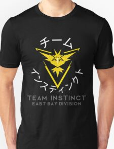 TEAM INSTINCT- EBD (WHITE TEXT) Unisex T-Shirt