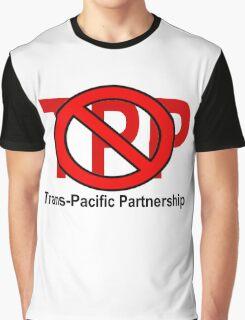 NO TPP - TRANS-PACIFIC PARTNERSHIP Graphic T-Shirt