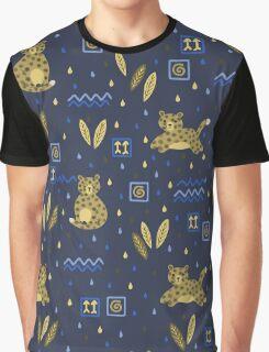 Kenyan Leopard Graphic T-Shirt