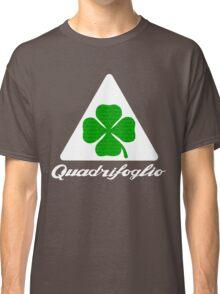 Quadrifoglio Alfa Fill Graphic Print Classic T-Shirt