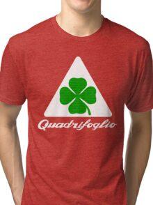 Quadrifoglio Alfa Fill Graphic Print Tri-blend T-Shirt