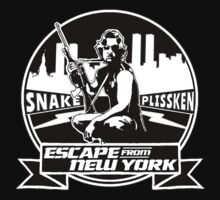 Snake Plissken (Escape from New York) Badge Kids Tee