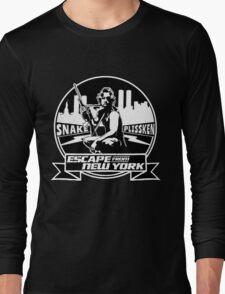 Snake Plissken (Escape from New York) Badge Long Sleeve T-Shirt