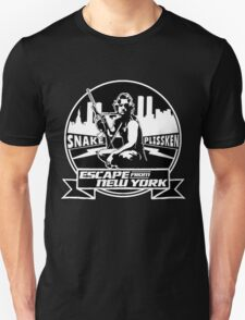 Snake Plissken (Escape from New York) Badge Unisex T-Shirt
