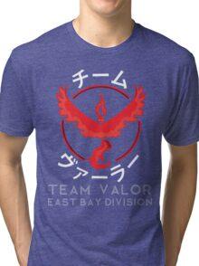 TEAM VALOR- EBD (WHITE TEXT) Tri-blend T-Shirt