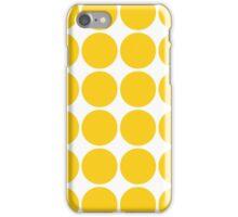 Gold Polka Dots iPhone Case/Skin
