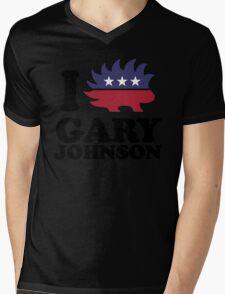I Love Gary Johnson Mens V-Neck T-Shirt