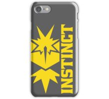 Vertical Team Instinct iPhone Case/Skin