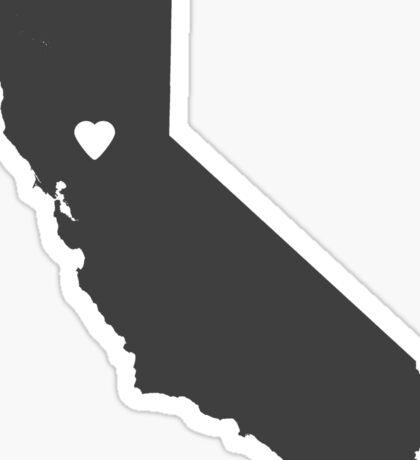 California Charcoal Sticker