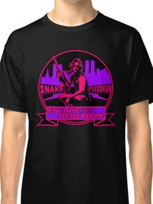 Snake Plissken (Escape from New York) Badge Colour 2 Classic T-Shirt