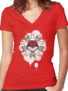 'Mondala Women's Fitted V-Neck T-Shirt