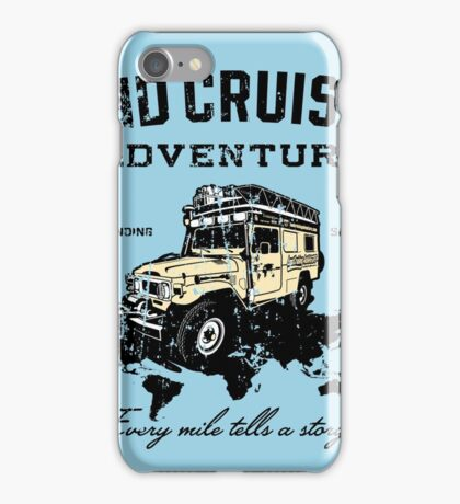 Every Mile Tells a Story - dark print iPhone Case/Skin