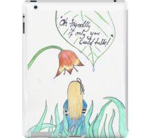 Alice in wonderland tigerlilly iPad Case/Skin