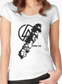 LINKIN PARK Women's Fitted Scoop T-Shirt