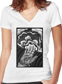 Cassandra Complex Women's Fitted V-Neck T-Shirt