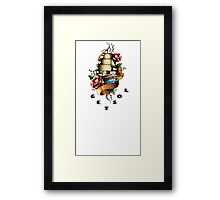 Wishful Thinking. Get Lost. (Humorous) Framed Print
