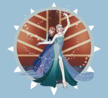Anna and Elsa by Lunaria91