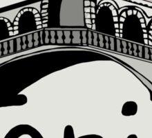 Rialto bridge Venice Sticker