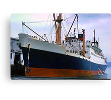RMS Newfoundland, Ocean Liner Ship in Halifax Canvas Print