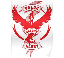 Team Valor before Glory! Poster