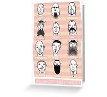 Beards of Australia Greeting Card