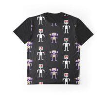 Sprite Kato and Cipher Desgin Graphic T-Shirt