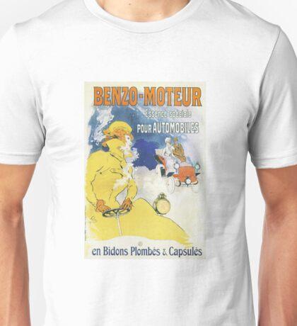 Vintage Jules Cheret Benzo Moteuur Unisex T-Shirt
