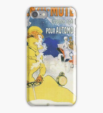 Vintage Jules Cheret Benzo Moteuur iPhone Case/Skin