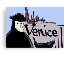 Symbols of Venice Canvas Print