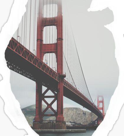 San Francisco in my heart Sticker