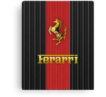 Ferrari Lover #3 [Gold - Red] Canvas Print