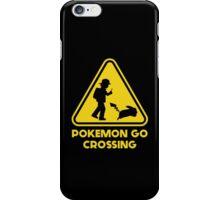 Pokemon Go Crossing iPhone Case/Skin