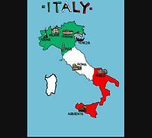 Italy map Unisex T-Shirt
