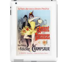 Vintage Jules Cheret L'Amant des Danseuses 1896 iPad Case/Skin