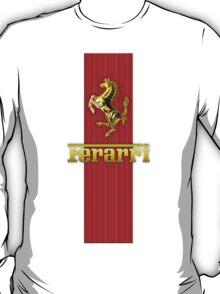Ferrari Lover #3 [Gold - Red] T-Shirt