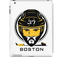 Boston Hockey T-Shirt iPad Case/Skin